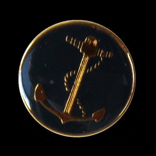 Sportlich eleganter Blazer Knopf mit Anker aus Metall