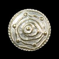 Metallknöpfe mit ausgefallenem Muster